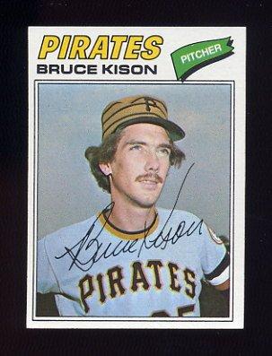 1977 Topps Baseball #563 Bruce Kison - Pittsburgh Pirates