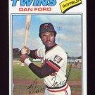 1977 Topps Baseball #555 Dan Ford - Minnesota Twins