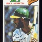 1977 Topps Baseball #551 Bill North - Oakland A's NM-M