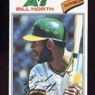 1977 Topps Baseball #551 Bill North - Oakland A's VgEx