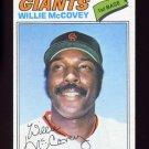 1977 Topps Baseball #547 Willie McCovey - San Francisco Giants NM-M