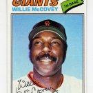 1977 Topps Baseball #547 Willie McCovey - San Francisco Giants Ex