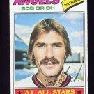 1977 Topps Baseball #521 Bob Grich - California Angels