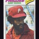 1977 Topps Baseball #520 Garry Maddox - Philadelphia Phillies