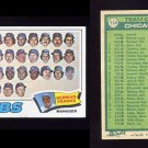 1977 Topps Baseball #518 Chicago Cubs CL / Herman Franks VgEx
