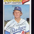1977 Topps Baseball #484 Burt Hooton - Los Angeles Dodgers NM-M