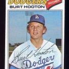 1977 Topps Baseball #484 Burt Hooton - Los Angeles Dodgers Vg