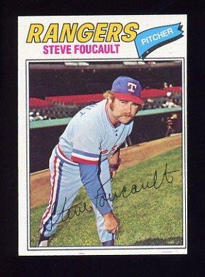 1977 Topps Baseball #459 Steve Foucault - Texas Rangers