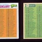 1977 Topps Baseball #451 Checklist 397-528