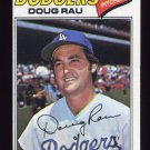 1977 Topps Baseball #421 Doug Rau - Los Angeles Dodgers