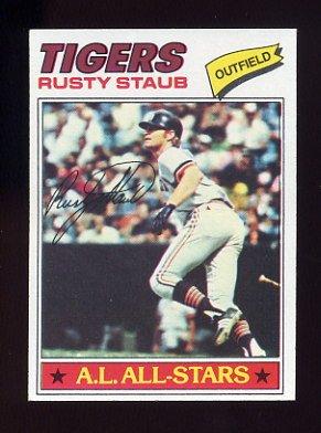 1977 Topps Baseball #420 Rusty Staub - Detroit Tigers