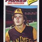1977 Topps Baseball #407 Dave Freisleben - San Diego Padres