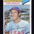 1977 Topps Baseball #403 Tom Grieve - Texas Rangers