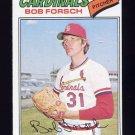 1977 Topps Baseball #381 Bob Forsch - St. Louis Cardinals