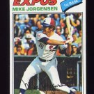 1977 Topps Baseball #368 Mike Jorgensen - Montreal Expos NM-M