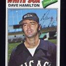 1977 Topps Baseball #367 Dave Hamilton - Chicago White Sox