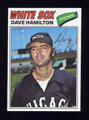 1977 Topps Baseball #367 Dave Hamilton - Chicago White Sox