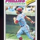 1977 Topps Baseball #357 Tim McCarver - Philadelphia Phillies