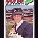 1977 Topps Baseball #344 Brian Downing - Chicago White Sox NM-M