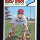 1977 Topps Baseball #336 Denny Doyle - Boston Red Sox