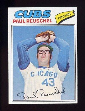 1977 Topps Baseball #333 Paul Reuschel RC - Chicago Cubs