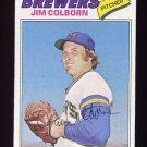 1977 Topps Baseball #331 Jim Colborn - Milwaukee Brewers