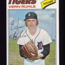 1977 Topps Baseball #311 Vern Ruhle - Detroit Tigers