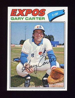 1977 Topps Baseball #295 Gary Carter - Montreal Expos