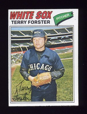 1977 Topps Baseball #271 Terry Forster - Chicago White Sox