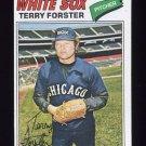 1977 Topps Baseball #271 Terry Forster - Chicago White Sox