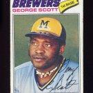1977 Topps Baseball #255 George Scott - Milwaukee Brewers G