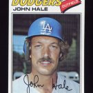 1977 Topps Baseball #253 John Hale - Los Angeles Dodgers