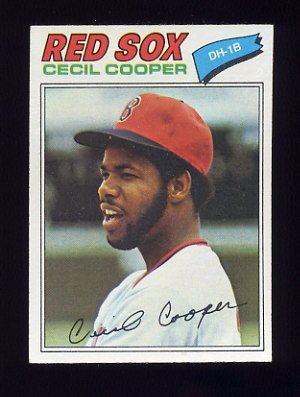 1977 Topps Baseball #235 Cecil Cooper - Boston Red Sox