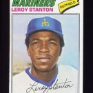 1977 Topps Baseball #226 Leroy Stanton - Seattle Mariners