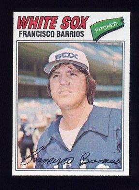 1977 Topps Baseball #222 Francisco Barrios RC - Chicago White Sox