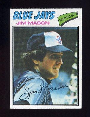 1977 Topps Baseball #212 Jim Mason - Toronto Blue Jays