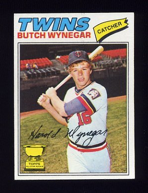 1977 Topps Baseball #175 Butch Wynegar RC - Minnesota Twins