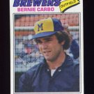 1977 Topps Baseball #159 Bernie Carbo - Milwaukee Brewers