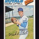 1977 Topps Baseball #141 Mark Littell - Kansas City Royals