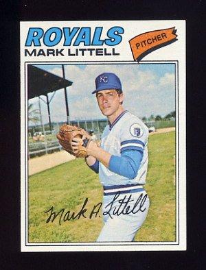1977 Topps Baseball #141 Mark Littell - Kansas City Royals