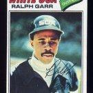 1977 Topps Baseball #133 Ralph Garr - Chicago White Sox NM-M