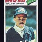 1977 Topps Baseball #133 Ralph Garr - Chicago White Sox Ex