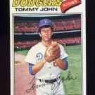 1977 Topps Baseball #128 Tommy John - Los Angeles Dodgers