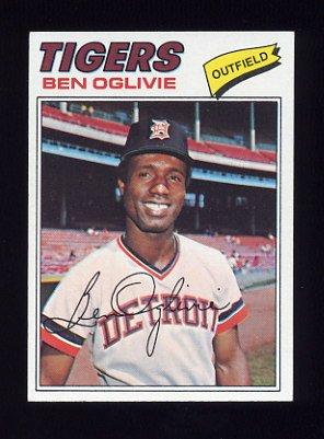 1977 Topps Baseball #122 Ben Oglivie - Detroit Tigers