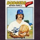1977 Topps Baseball #088 Stan Wall - Los Angeles Dodgers