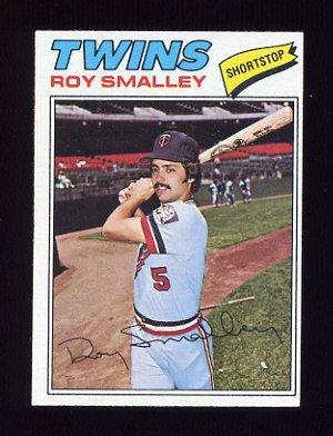 1977 Topps Baseball #066 Roy Smalley - Minnesota Twins