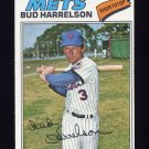 1977 Topps Baseball #044 Bud Harrelson - New York Mets