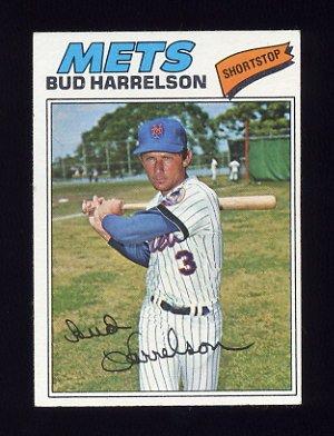 1977 Topps Baseball #044 Bud Harrelson - New York Mets