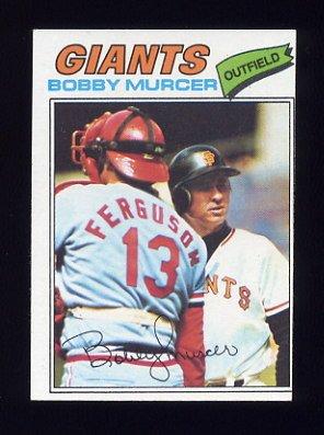 1977 Topps Baseball #040 Bobby Murcer - San Francisco Giants