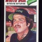 1977 Topps Baseball #017 Steve Stone - Chicago White Sox NM-M
